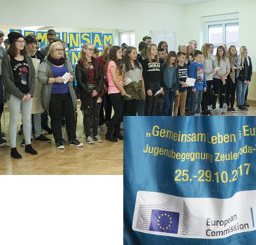 plakat, EU gefördert